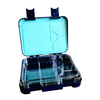 Large leakproof bento lunch box - Convertible navy