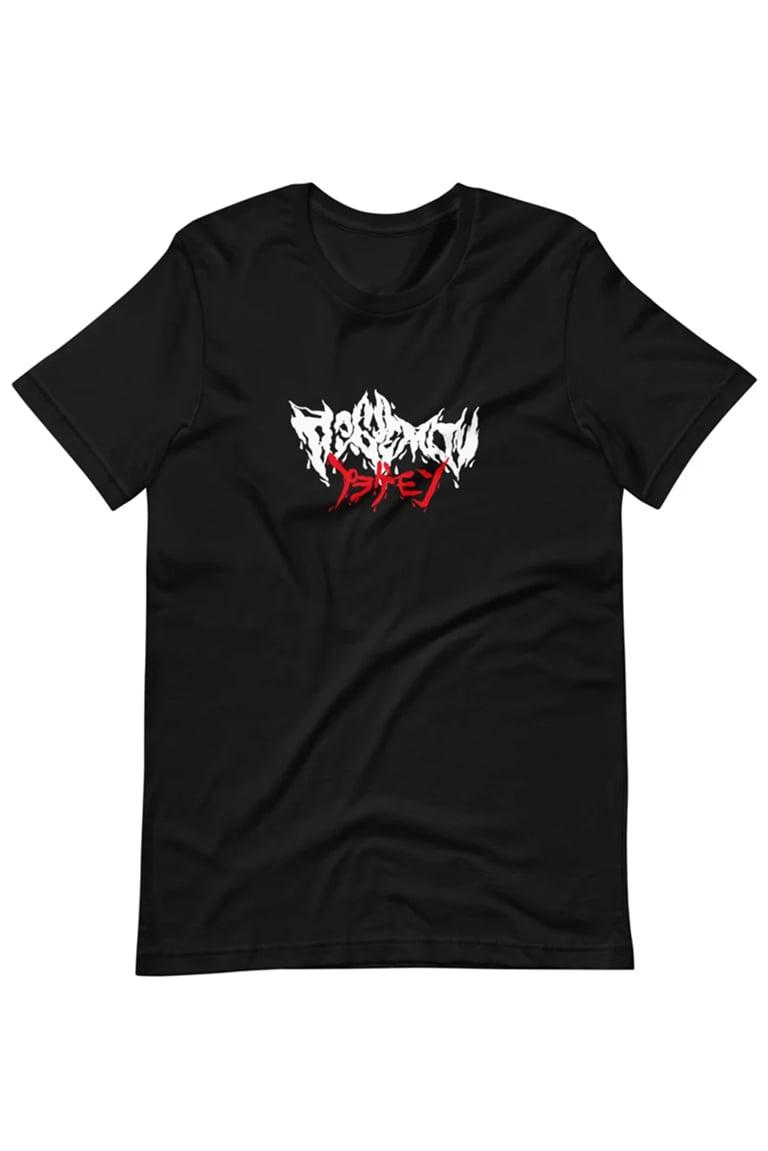 Image of PLAGUEMON® - Black Metal Shirt