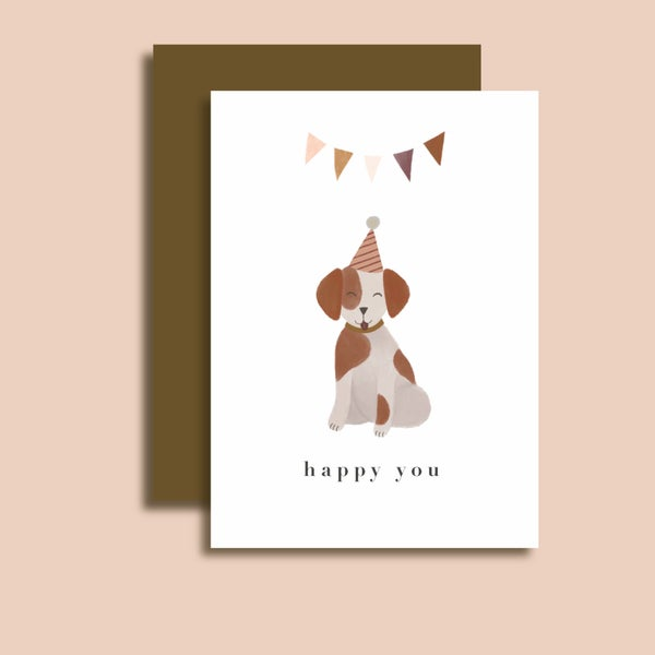 Image of Carte Happy You