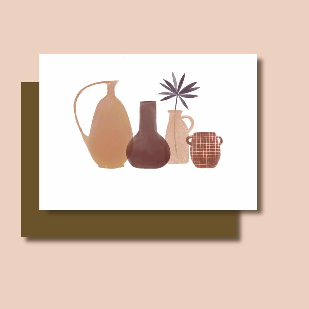 Image of Carte Jarres et Vases