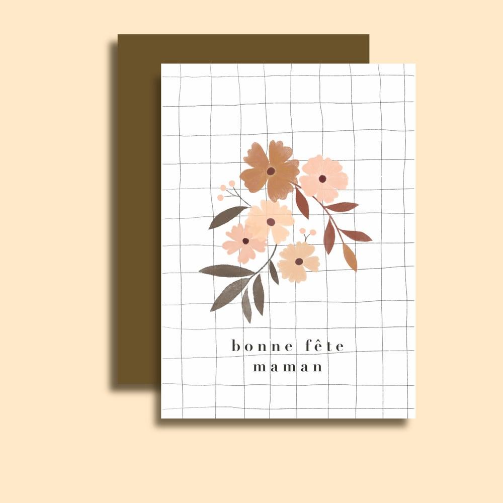 Image of Carte Bonne Fête Maman