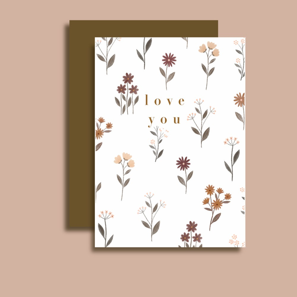 Image of Carte Love You