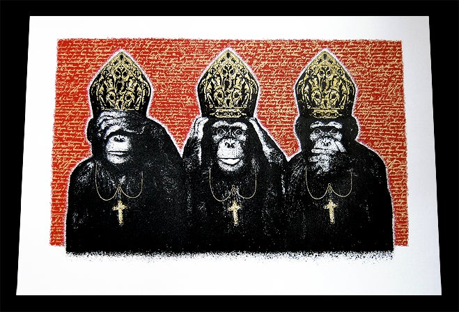 Image of PRIMATE PONTIFICATE - RED EDITION