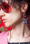 Deli Earrings - Livin's easy - Petites boucles brodées