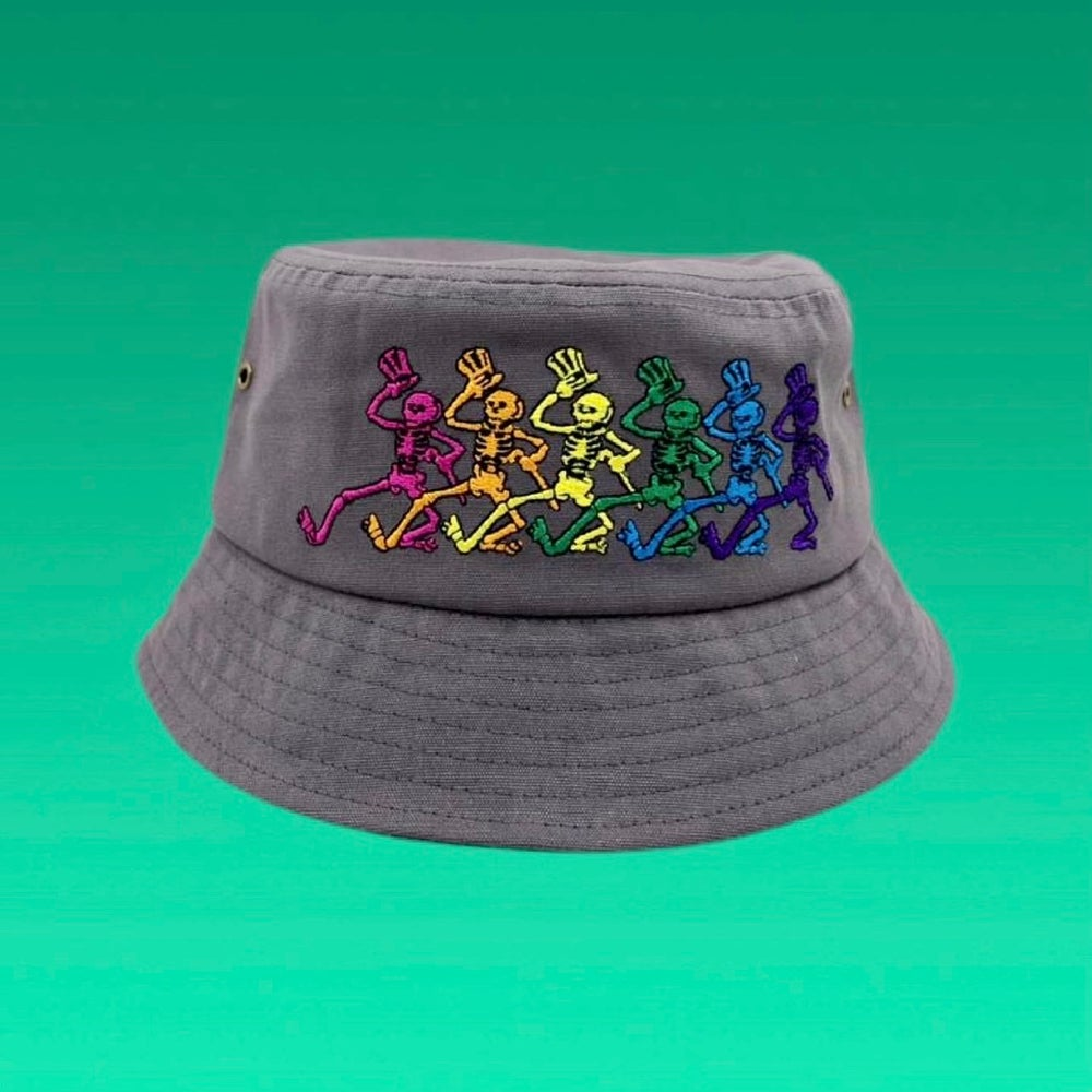 Image of  100% Hemp  Bucket Hat! - Embroidered  Full Wrap Around