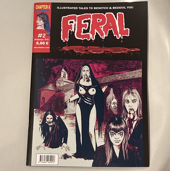 Image of LIMITED 33 Extended English FERAL #2 Comic including SHAZZULA and MATER SUSPIRIA VISION