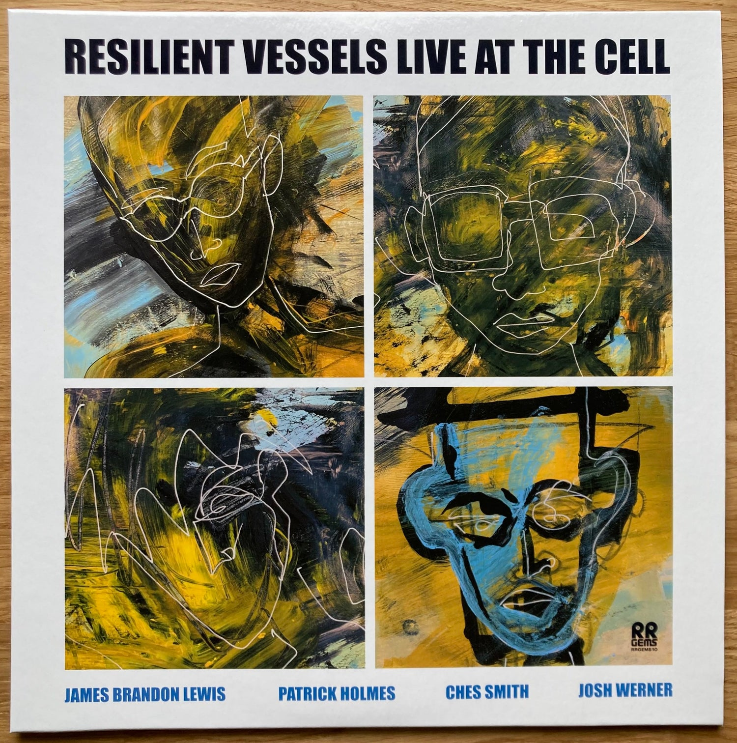 Image of RESILIENT VESSELS LIVE AT THE CELL (RRGEMS10)