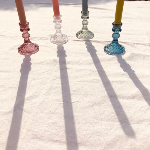 Image of Glass Candlesticks