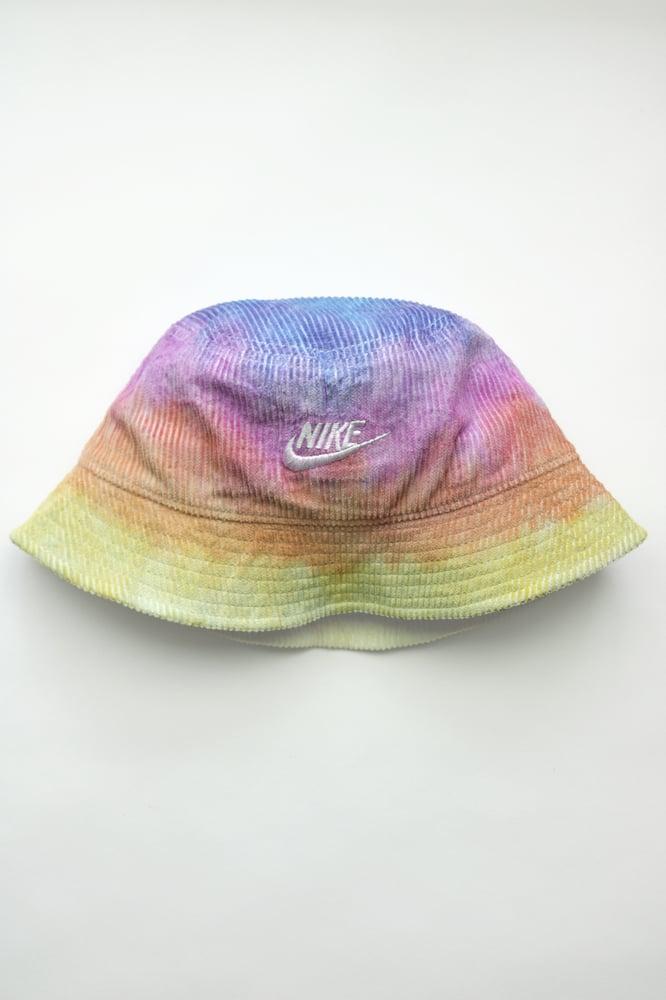 Image of Nike Bucket Hat Velor Dyed ( Sunset )