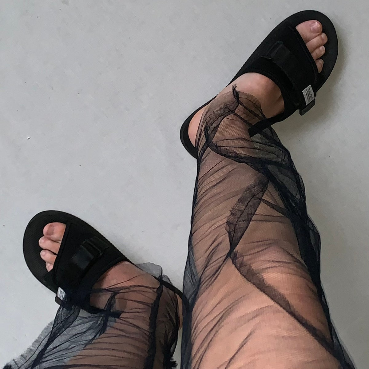 Image of SHEER WIGGLE TROUSERS