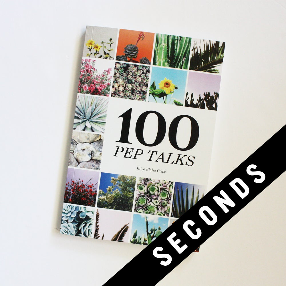 Image of 100 PEP TALKS - SECONDS