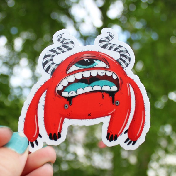 Image of Red Guy Stickers