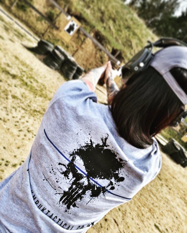 "Image of KMP UK TACTICAL TBL ""PUNISHER"" T-Shirt"