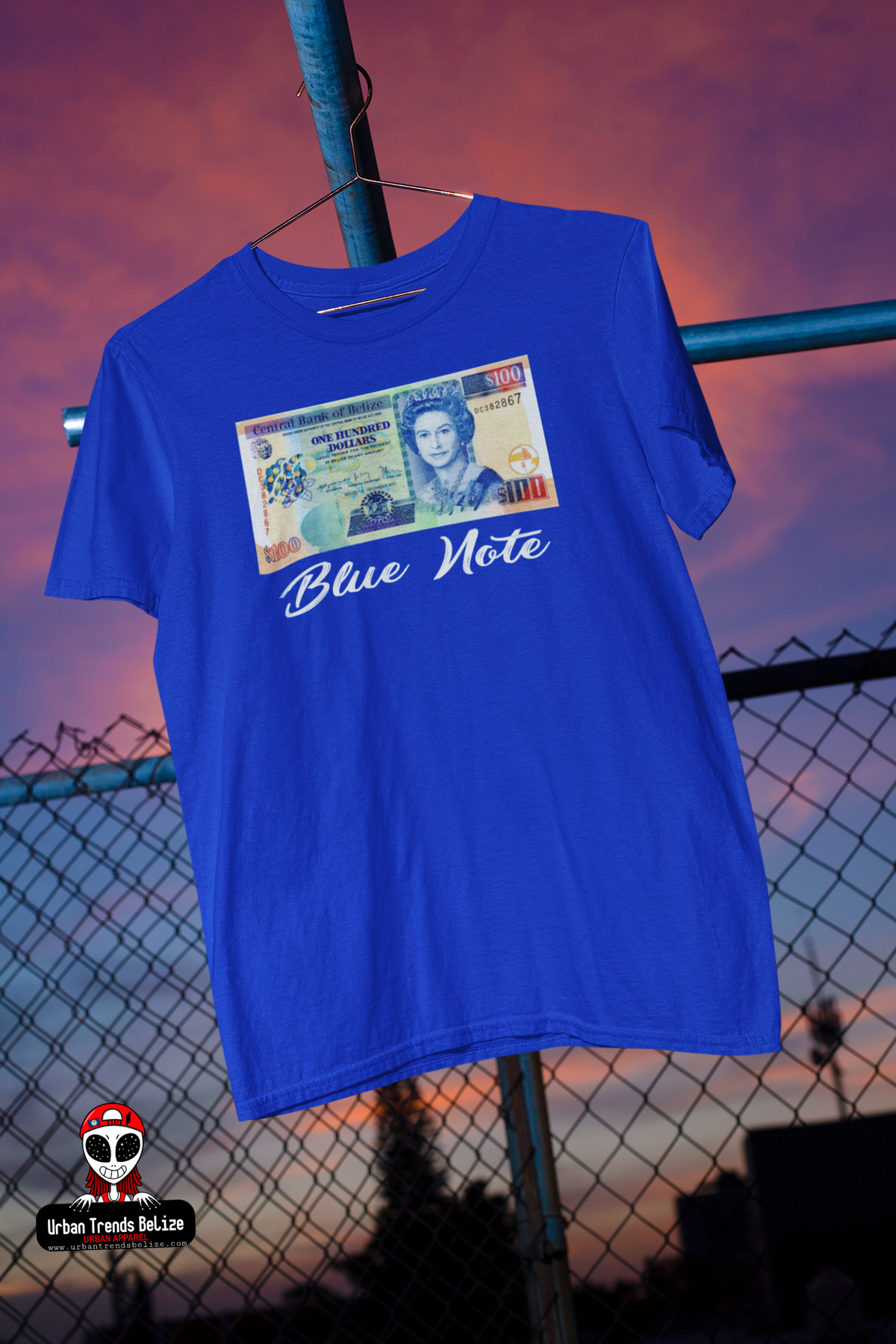 Image of BELIZE BLUE NOTE TSHIRT