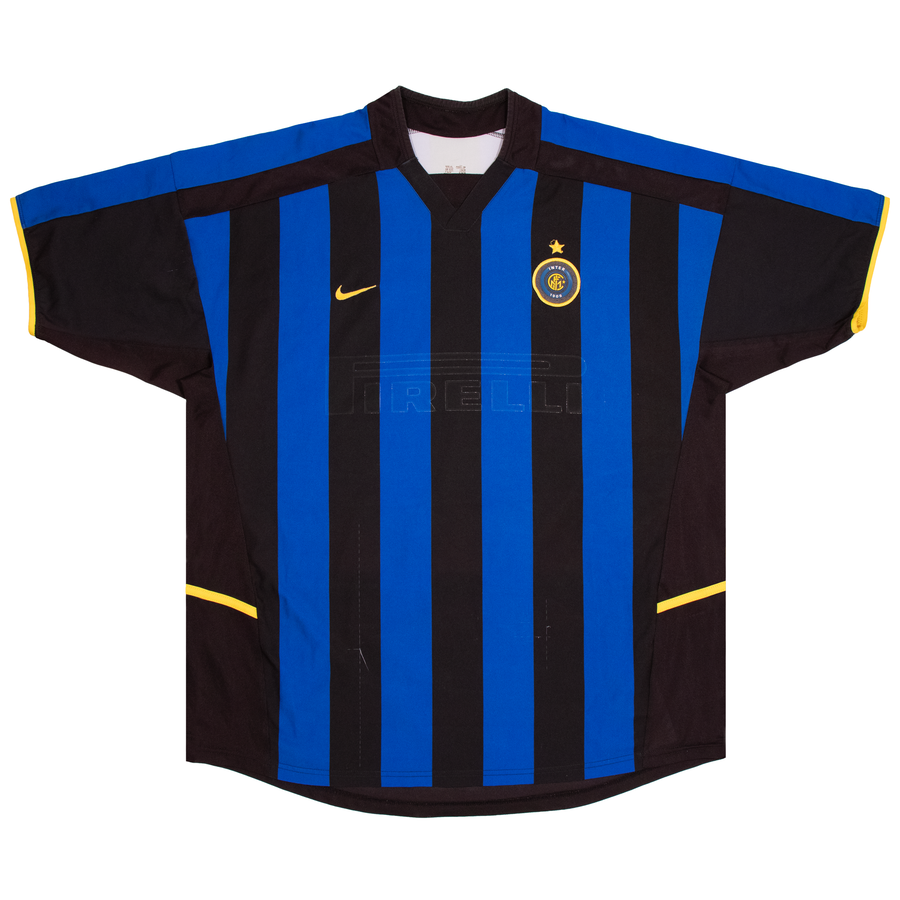 Image of Vintage Nike Inter FC '02 Jersey Distressed (XL)