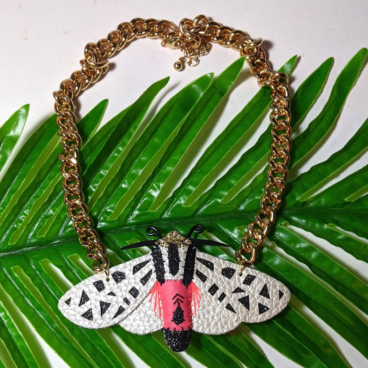 Image of Mexican Tiger Moth Necklace