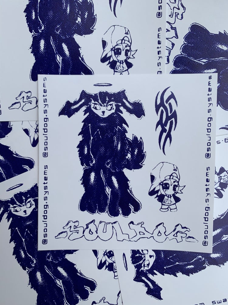 Image of Dragon Stickers