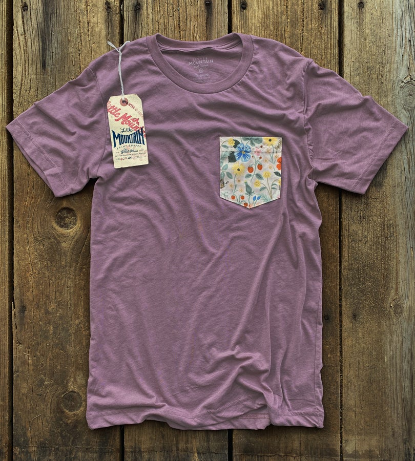 Image of Pocket Tee | Orchid