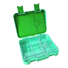 Large leakproof bento lunch box - Convertible green