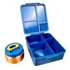 ❄Winter Special❄ LUNCH BUDD.e Bento Lunch Box - Blue