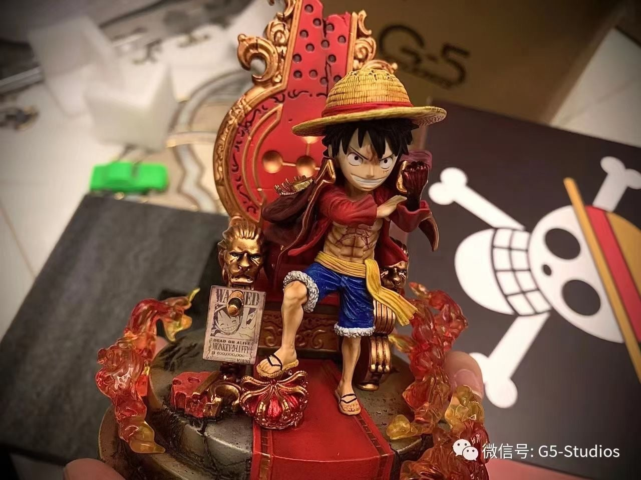 Image of [In-Stock]One Piece G5 Studio Monkey D Luffy Resin Statue