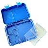 Regular leakproof bento lunch box - convertible blue