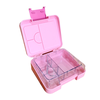 Mini leakproof bento lunch box - pink