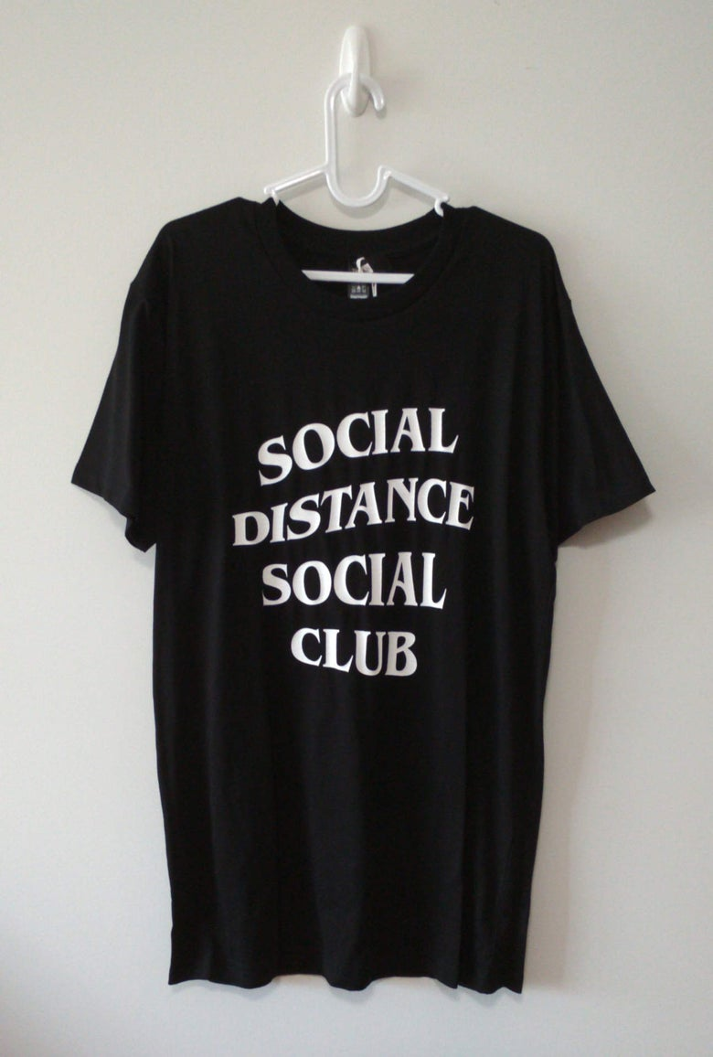 Image of Social Distance Social Clube Tee (Black)