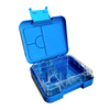 Mini leakproof bento lunch box - blue