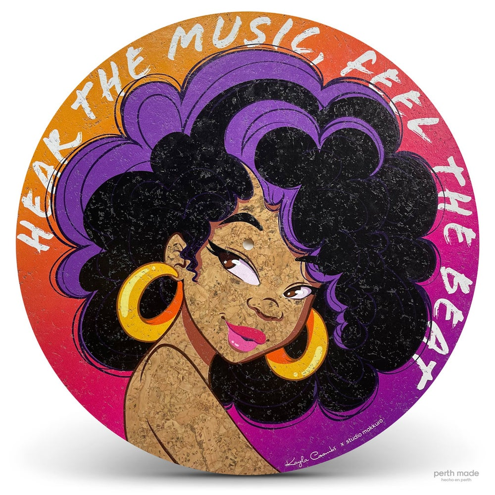Image of Hear the music, feel the beat collab with Kayla Coombs (VIC)