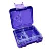 Mini leakproof bento lunch box - purple