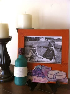 Image of Wine and Cheese Party Art Frame
