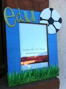Image of Soccer Frame, custom
