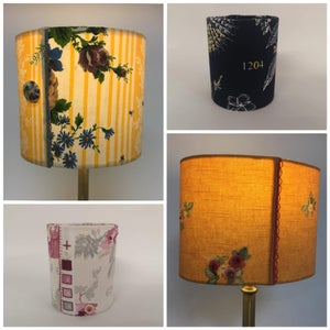 Image of Jennifer Collier: Hand Stitched Fabric Light Shades and Tea Lights