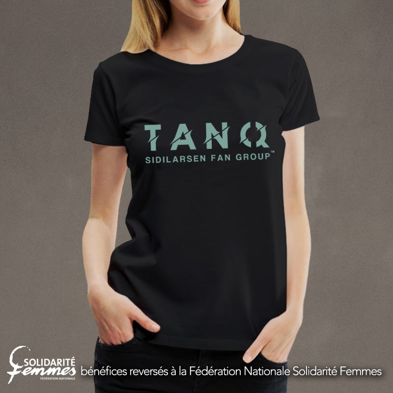 """Image of Tee-shirt femme TANQ """"SIDILARSEN FAN GROUP"""""""