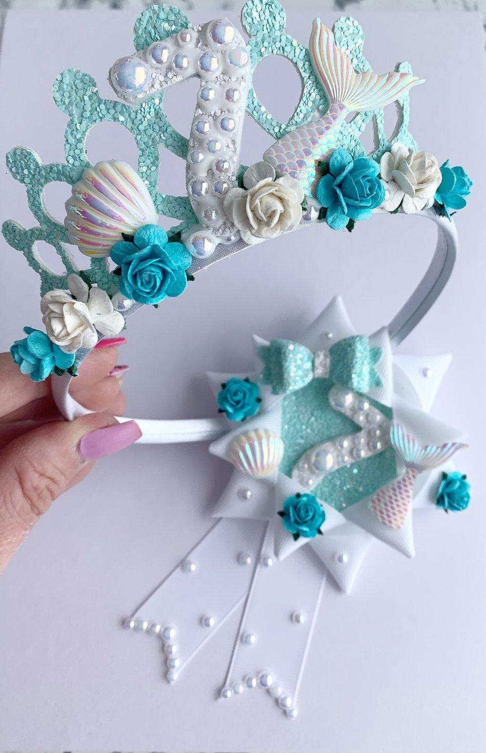 Image of Mermaid birthday set