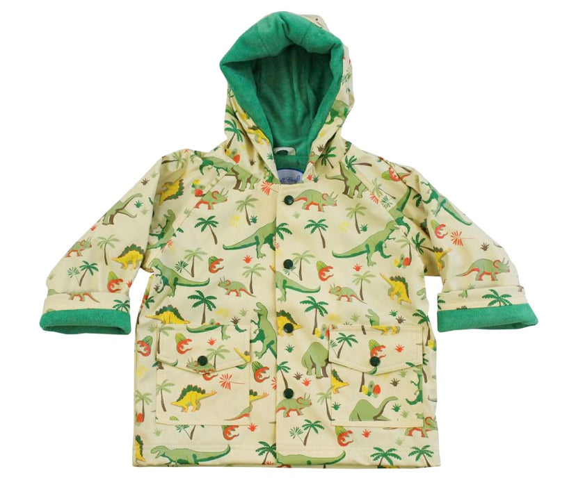 Image of Dino Raincoat (can be personalised)