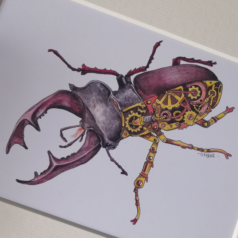 Image of STEAMPUNK STAG BEETLE