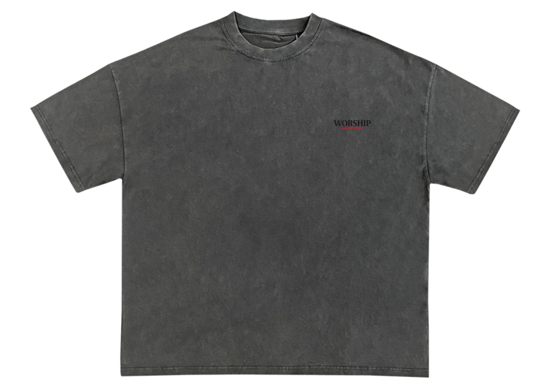 Image of Worship Signature T-Shirt (Charcoal Grey)