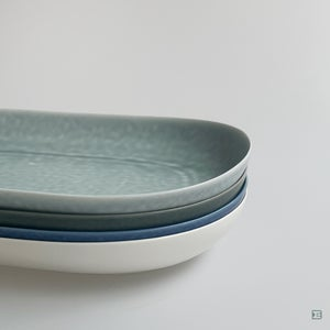 Yumiko Iihoshi Porcelain ReIRABO oval plate L