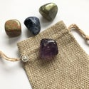 New Chapter / Strength Crystal Travel Set: Amethyst, Labradorite, Sodalite, Unakite