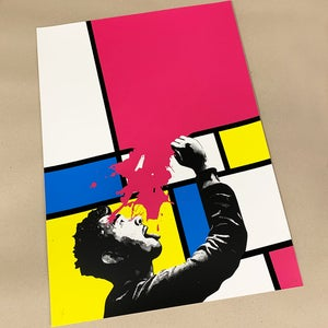 """Image of """"Soak Up Art When You Can"""" CMYK Edition of 25"""