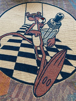 Image of Drip in & drop out woven blanket PREORDER