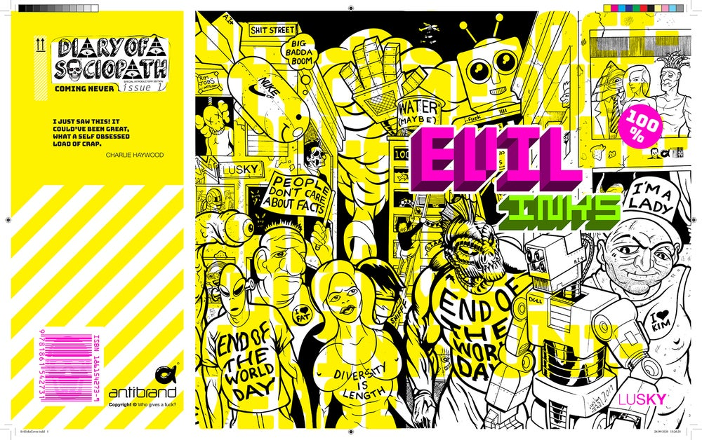 Image of Evil Inks Book.
