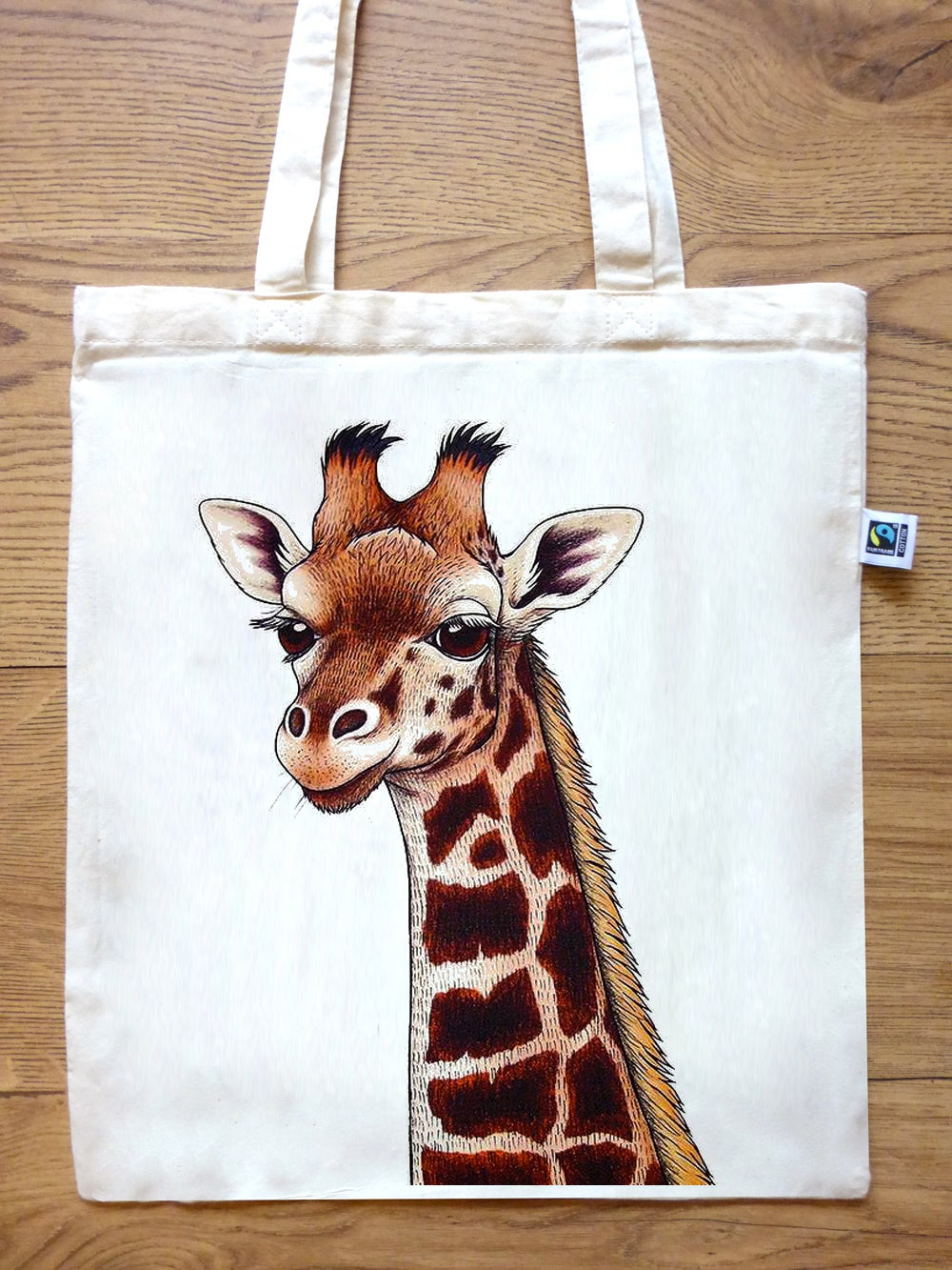 Image of Giraffe Tote Bag