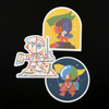 Little Cosmonauts Club Stickers