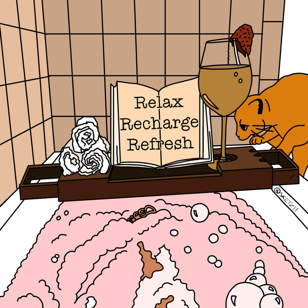 Relax, Recharge, Refresh