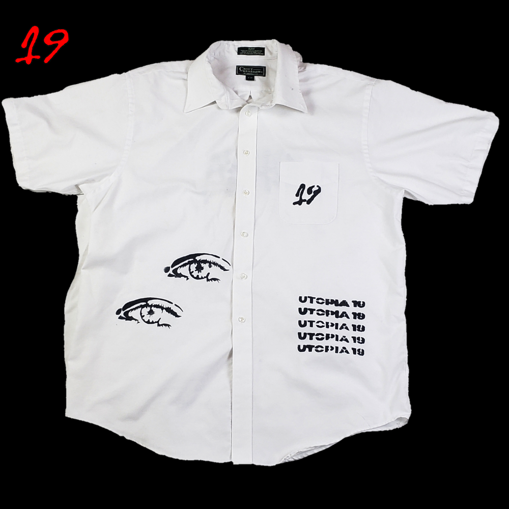 Double Vision Button Down