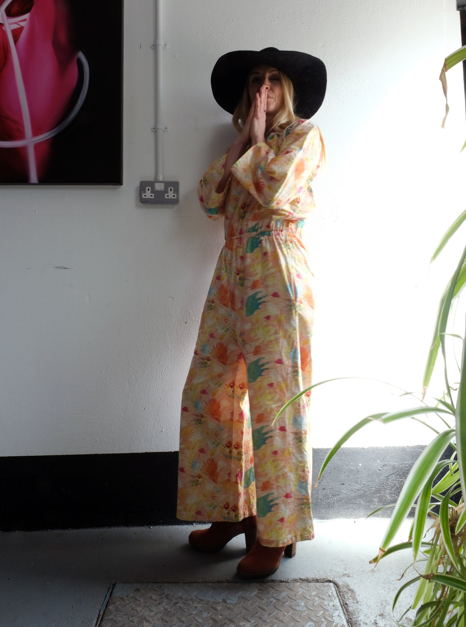 Image of Tropical Abstraction 100% Cotton Body suits. Sizes XS-3X