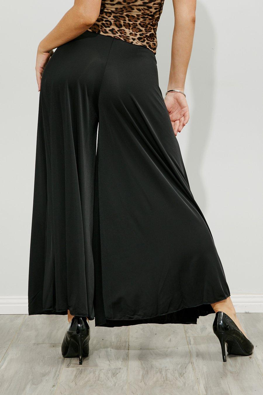 Image of Calott Pants - Black or Chocolate B3180 Dancewear latin ballroom